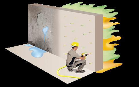 Water Barrier : la solution contre les infiltrations d'eau