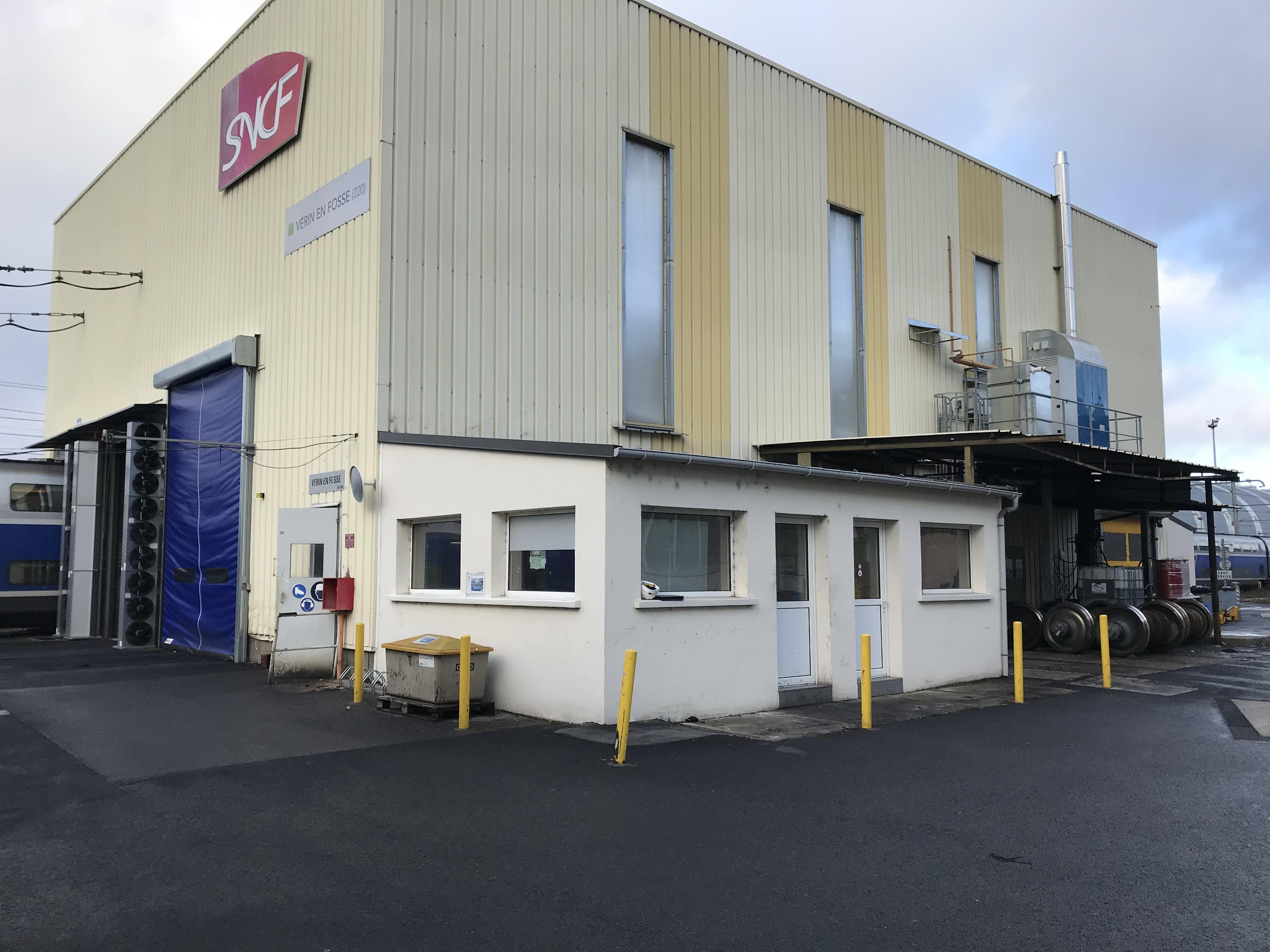 Vue d'ensemble du pôle Paris Sud Est de la SNCF - Intervention URETEK