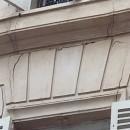 photo fissures extérieures immeuble solution uretek