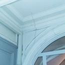 photo fissures intérieures immeuble paris solution uretek