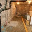 Intervention réalisée depuis les caves