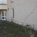 Fissures sur le bâtiment de la gendarmerie