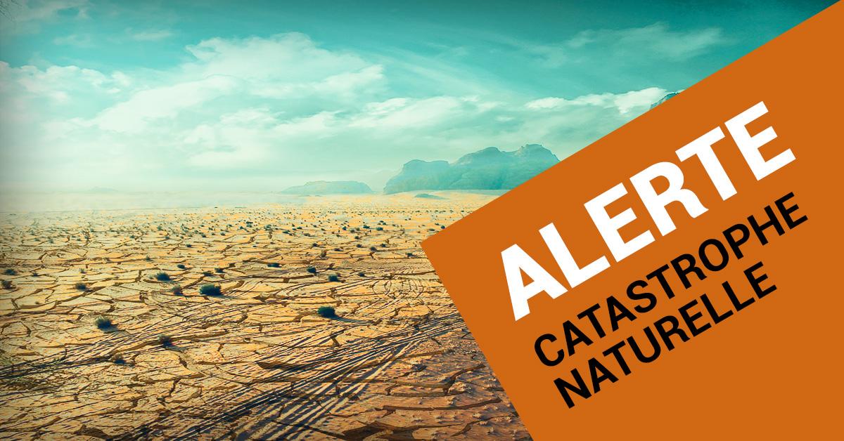 Alerte catastrophe naturelle