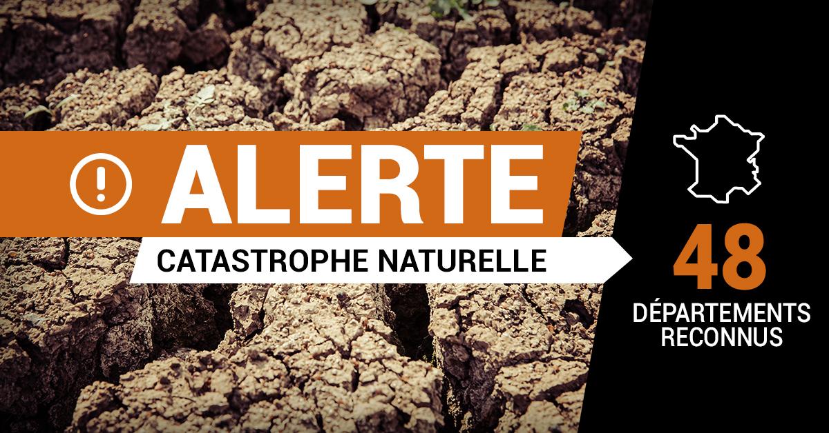 Arrêté de catastrophe naturelle du 09 juillet 2021
