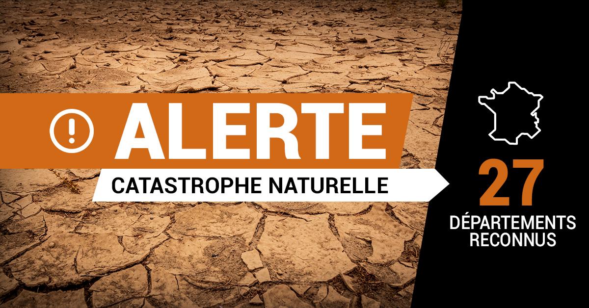 catastrophe naturelle sécheresse