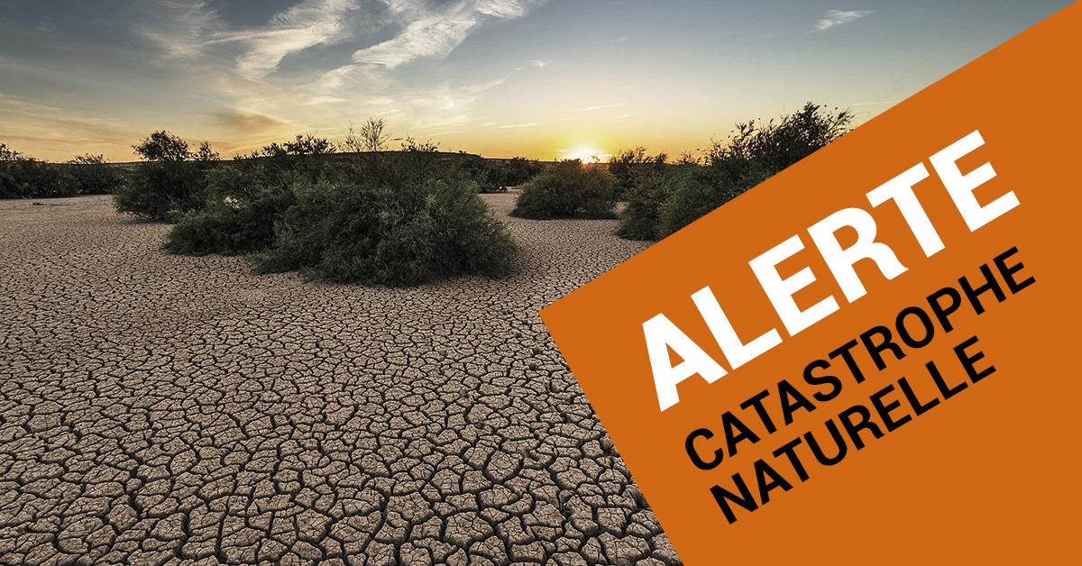 Alerte Catastrophe Naturelle 28 mars 2021